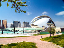 City of Arts and Sciences Valencia Spain Stock Image