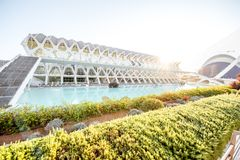 City of Arts and Sciences in Valencia Stock Photography
