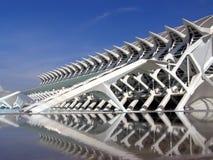 City of arts and sciences, Valencia stock image