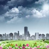 City as background Stock Photos