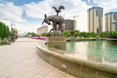 City Astana Royalty Free Stock Photo