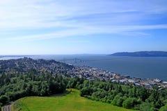 City of Astoria Oregon Stock Image