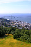 City of Astoria Oregon royalty free stock images