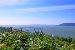 City of Astoria Oregon Royalty Free Stock Image