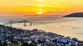 City of Astoria, Oregon Royalty Free Stock Images