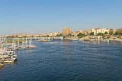 The City of Aswan (Nubia, Egypt) Stock Image