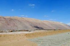 City in Atacama desert royalty free stock images