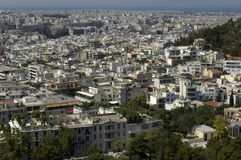 City of Athenes Stock Photo