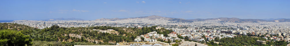 City of Athens Royalty Free Stock Image
