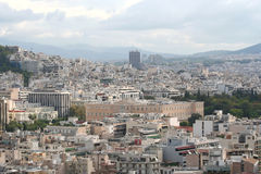 City of Athens Royalty Free Stock Images