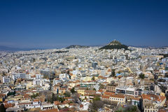 City of Athens, Greece Royalty Free Stock Photo