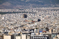 City of Athens Royalty Free Stock Photography