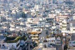 City of Athens Greece Stock Image