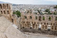 The city of Athens Royalty Free Stock Photography