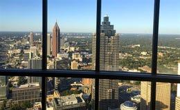 City Of Atlanta from Polaris. Image of Atlanta, Georgia from Polaris restaurant at the top of the Westin Hotel Stock Images