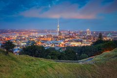 City of Auckland, New Zealand. Stock Photo