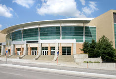 City Auditorium. The Civic Auditorium in Omaha Nebraska royalty free stock image