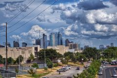 City of Austin. Great place to be ..Austin, Texas Stock Photo
