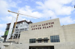 City of Austin power plant Royalty Free Stock Images