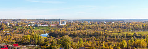 City in autumn Royalty Free Stock Images