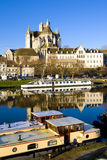 City of Auxerre Royalty Free Stock Image