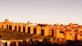City of Avila Royalty Free Stock Images