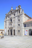 City Avila, monastery of Saint Teresa Royalty Free Stock Photography