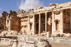 City of Baalbek, Lebanon Stock Photo
