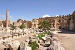 City of Baalbek, Lebanon Stock Photo