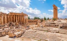City of Baalbek, Lebanon Royalty Free Stock Photos