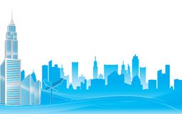 City background Royalty Free Stock Photo