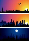 City background Stock Photos