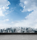 City background for ipad. Texture Royalty Free Stock Photography