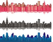 City background Royalty Free Stock Photography