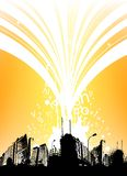 City background vector Stock Photo