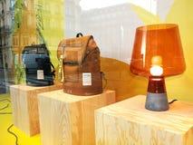 Kenzo City Backpacks Showcase Printemps Paris Royalty Free Stock Image