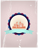 City badge Royalty Free Stock Photo