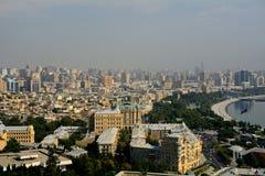 The city, Baku, Azerbaijan Royalty Free Stock Images