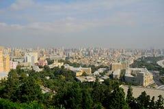 The city, Baku, Azerbaijan Royalty Free Stock Photos