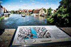 Bamberg. City of Bamberg in Bavaria, Germany Royalty Free Stock Photo