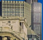 city bank London Zdjęcia Stock
