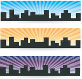 City banner Royalty Free Stock Images