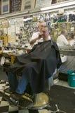 City Barber Shop Royalty Free Stock Photo