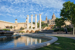 City of Barcelona Picturesque Scenery Royalty Free Stock Photo