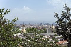Views of Barcelona. Royalty Free Stock Images