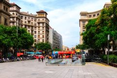 City of Barcelona Royalty Free Stock Photography
