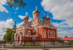 The city of Barysaw, Belarus stock photography