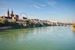 City of Basel Royalty Free Stock Images