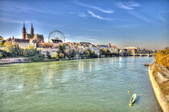 City of Basel Royalty Free Stock Photo