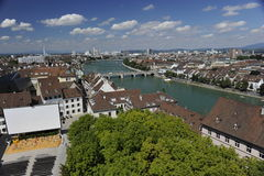 City of Basel, Switzerland Stock Photography